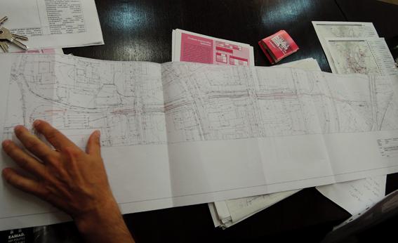 Architekt V.Ligus prezentuje štúdiu cyklocestičky Kúpeľná - Mlynský náhon.