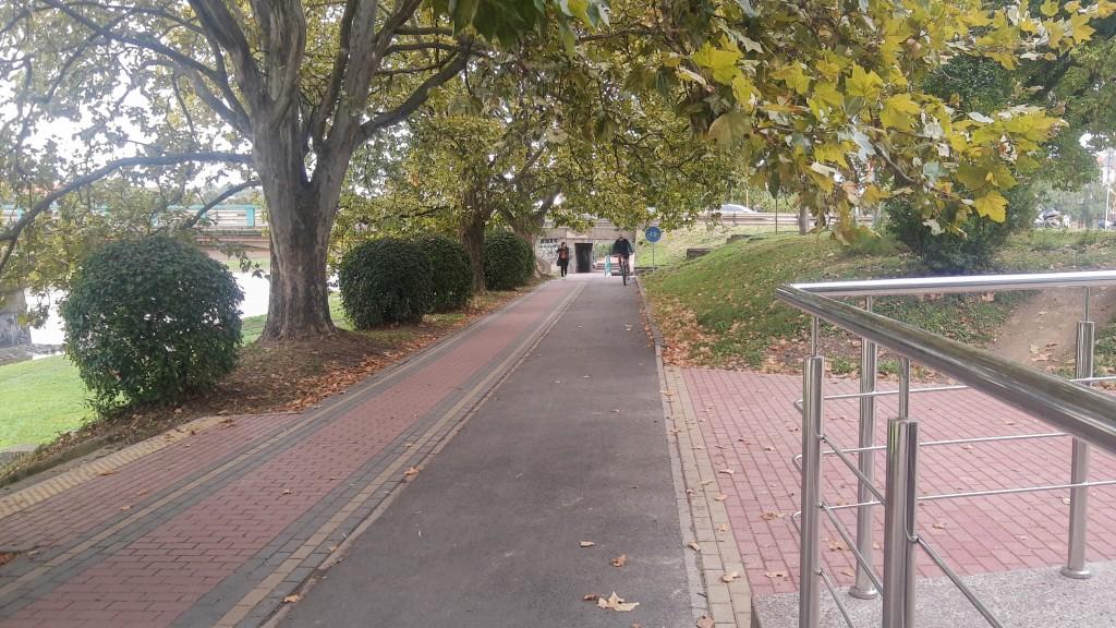 Cyklistická infraštruktúra v Užhorode